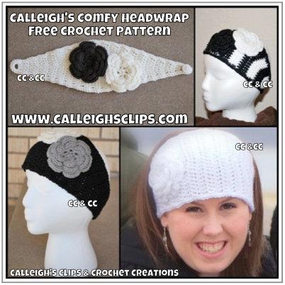 Comfy Headwrap Crochet Pattern Allfreecrochet