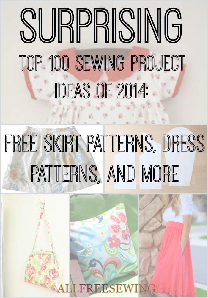 Surprising Top 100 Sewing Project Ideas Of 2014 Free Skirt Patterns