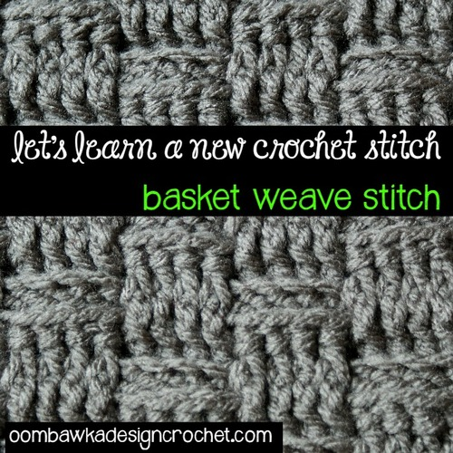 How To Crochet The Basketweave Stitch Allfreecrochet