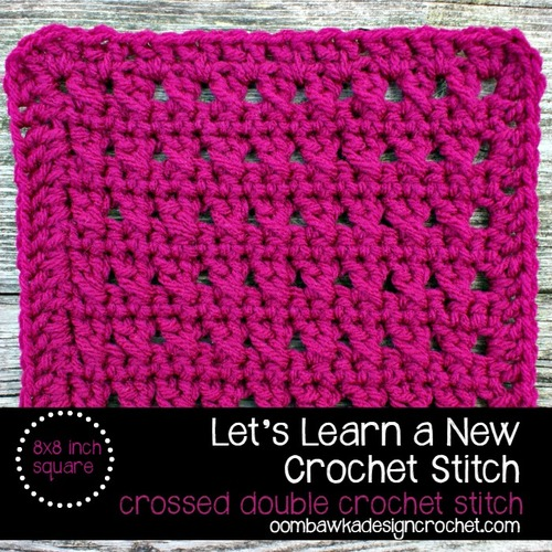 How to cross double crochet stitches allfreecrochet how to cross double crochet stitches ccuart Gallery