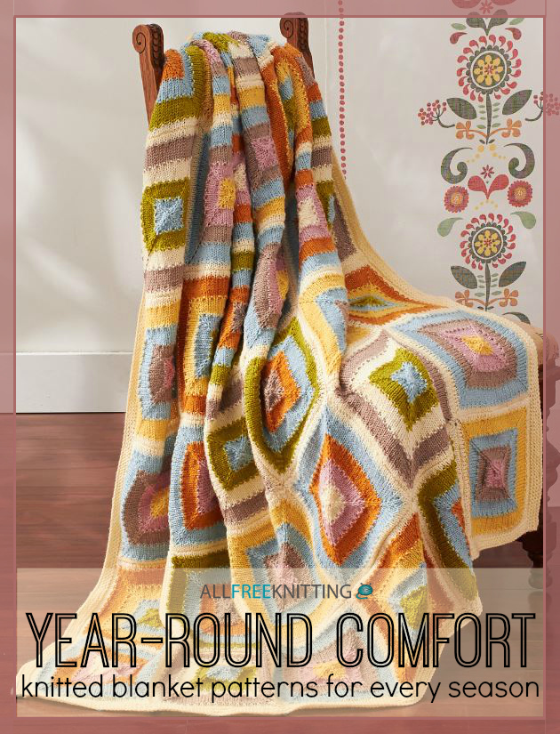 Year-Round Comfort: 16 Knitted Blanket Patterns for Every Season ...
