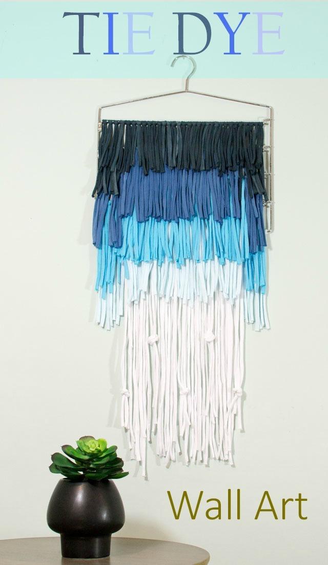 Ombre Tie Dye Shirt Wall Art Favecrafts Com