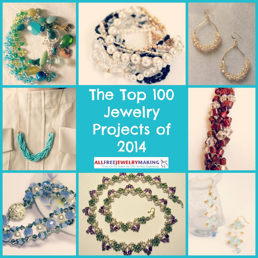 Top 100 DIY Jewelry Patterns: How to Make Bracelets, Necklaces ...
