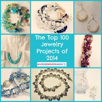 Top 100 DIY Jewelry Projects of 2014: How to Make Earrings, Bracelets, and More