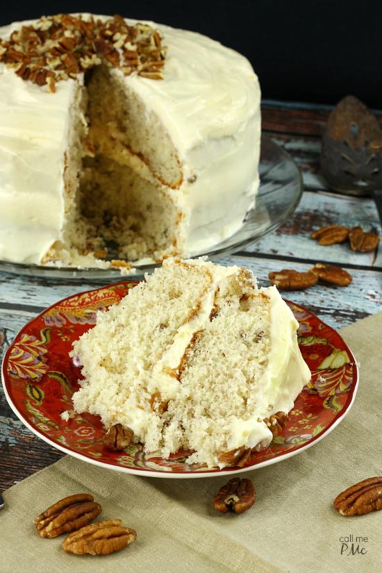 Italian Cream Cake with Buttercream Frosting | RecipeLion.com