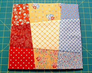 Free Nine Patch Quilt Patterns + Other Nine Patch Designs ... : easy 12 inch quilt block patterns - Adamdwight.com