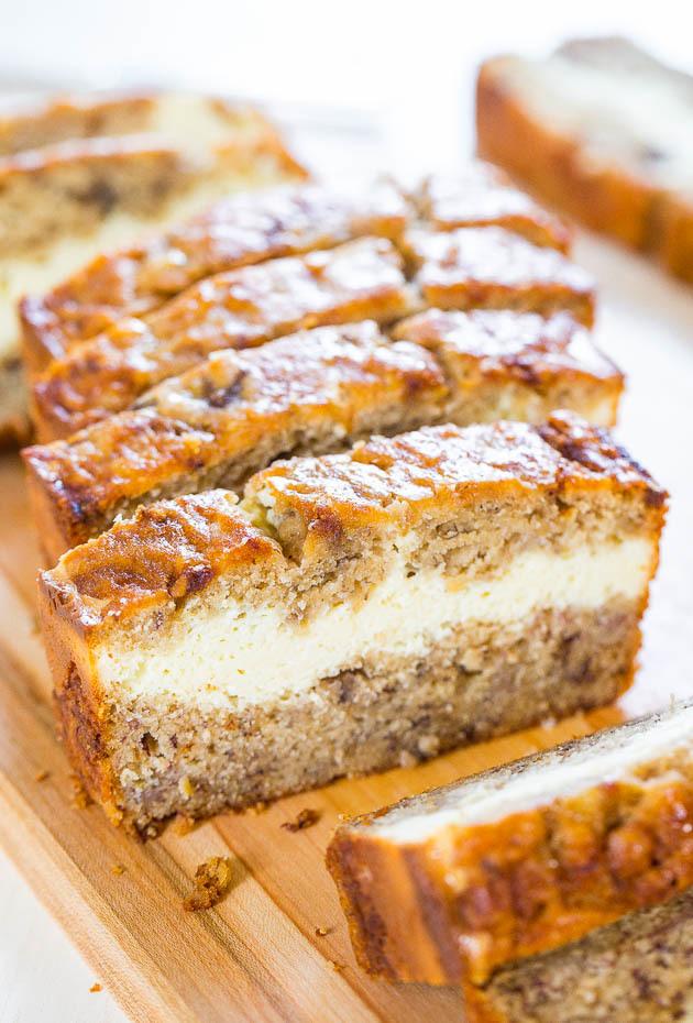Cream Cheese Filled Banana Bread Recipelion Com