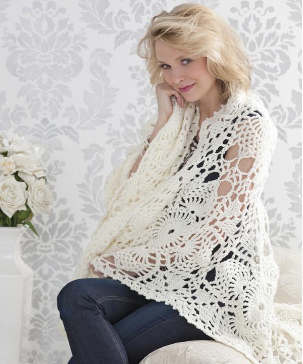 Downton Abbey Inspired Crochet Afghan