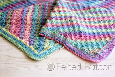 Spring into Summer Crochet Blanket