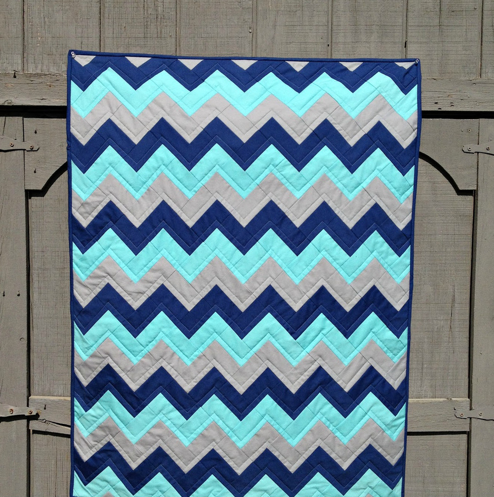 Electric Zig Zag Quilt Favequilts Com