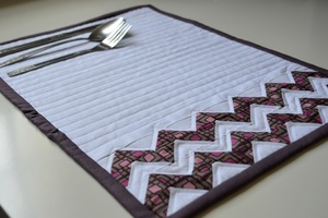 Style with Chevrons Placemat