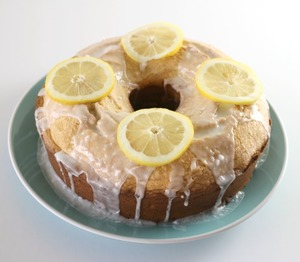 Little Old Lady Lemon Pound Cake