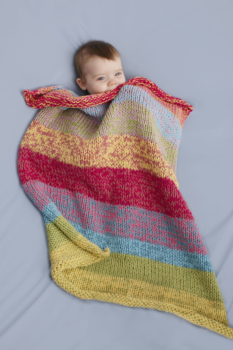 Sunshine Day Baby Throw Allfreeknitting Com