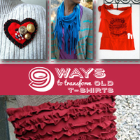 """9 Ways to Transform Old T Shirts"" eBook"