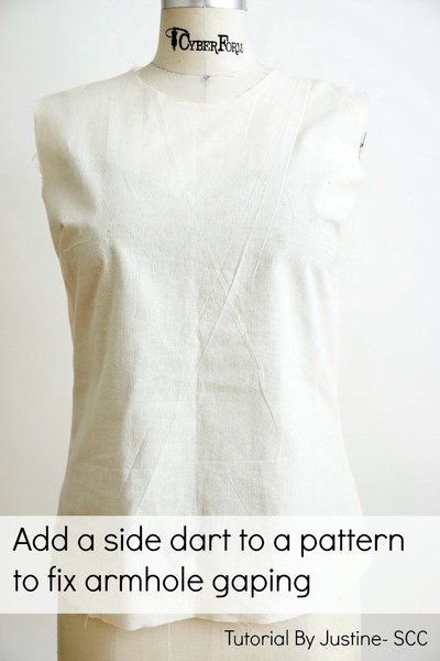 Add Darts to Fix an Armhole