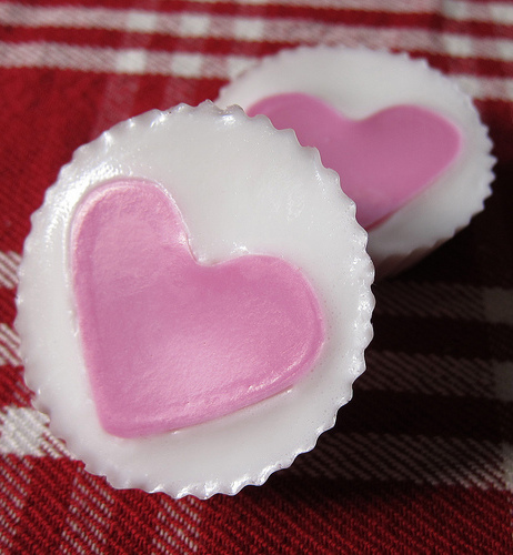 Handmade Soap Hearts