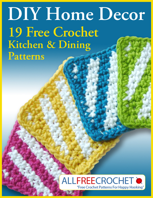 DIY Home Decor: 19 Free Crochet Kitchen and Dining Patterns ...