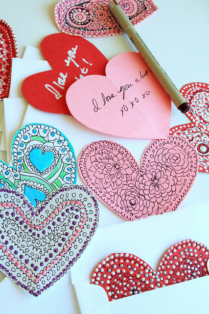 Be My Paper Valentine