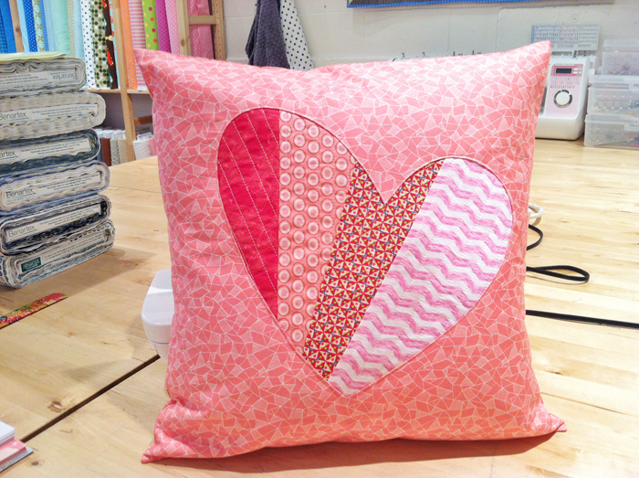 Patchwork Love Diy Pillow Allfreesewing Com