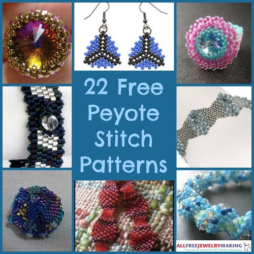 22 Free Peyote Stitch Patterns Allfreejewelrymaking Com