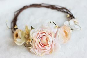 Stunning Silk DIY Flower Crown