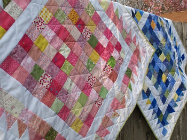 A Hundred Hugs Baby Quilt