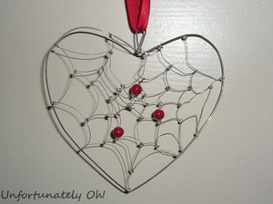 Dreamcatcher Heart Pendant