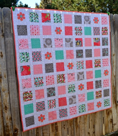 Postage Stamp Stacker Quilt