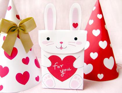 Quick and Easy Bunny Favor Bags