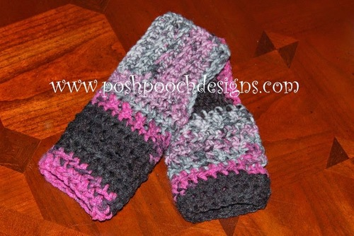 Fast And Easy Fingerless Gloves Allfreecrochet