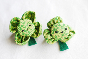 The Cutest Little Shamrock Pins
