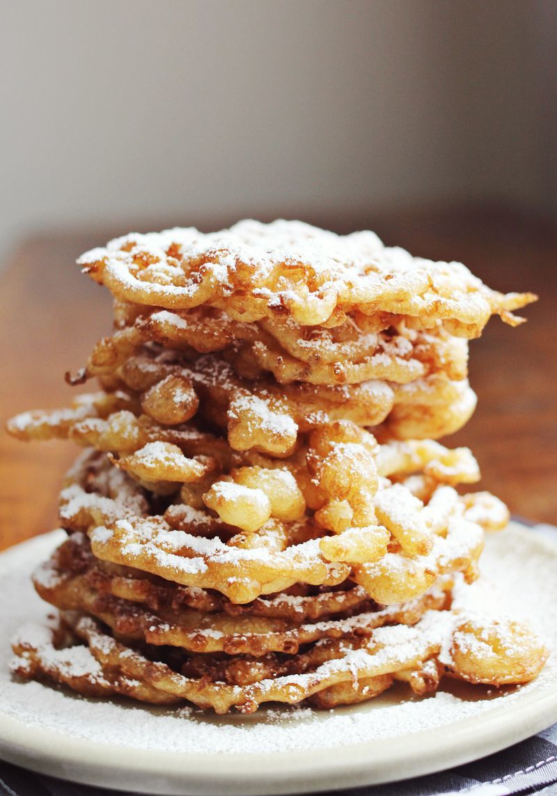 Homemade Funnel Cake | TheBestDessertRecipes.com