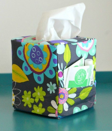 Sniffles Be Gone Tissue Box Cover Allfreesewing Com