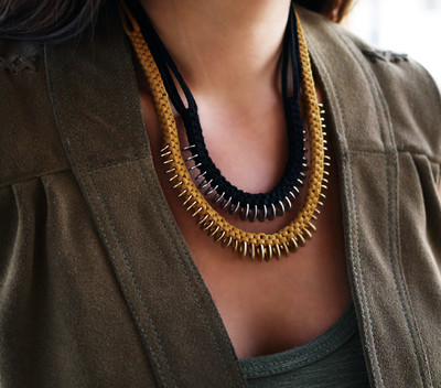Leather box braid necklace diy allfreejewelrymaking leather box braid necklace fandeluxe Choice Image