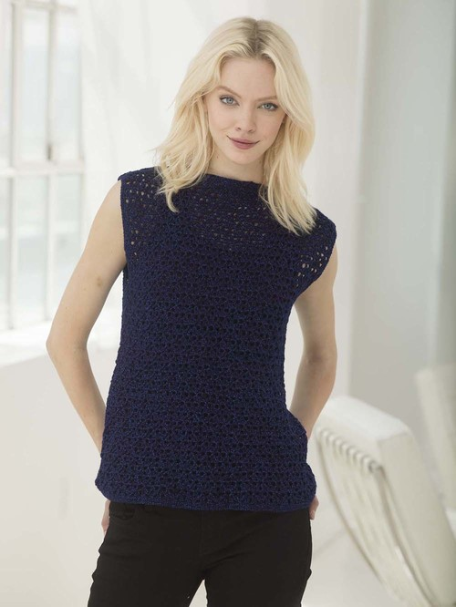 Perfect Sleeveless Crochet Tunic Allfreecrochet