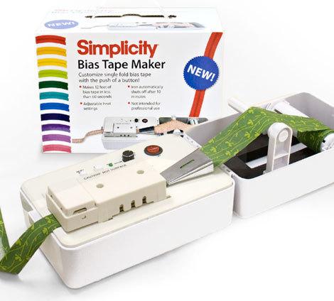 Simplicity Bias Tape Maker Giveaway Favecrafts Com