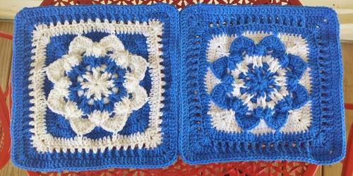 Star Flower Crochet Granny Square Allfreecrochetafghanpatterns