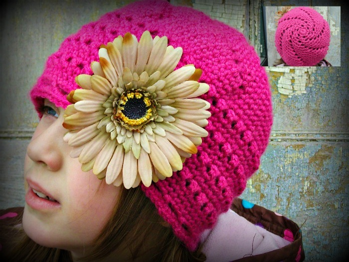 Crochet Patterns Free Childrens Hats : Shelbi Free Crochet Hat Pattern For Kids FaveCrafts.com