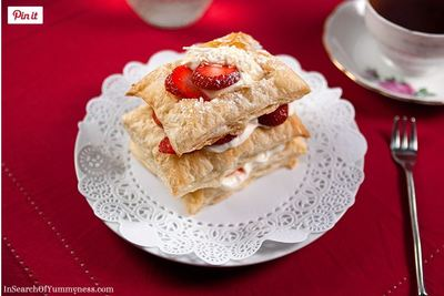 Strawberry Coconut Napoleons