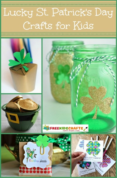 Lucky Saint Patricks Day Crafts for Kids