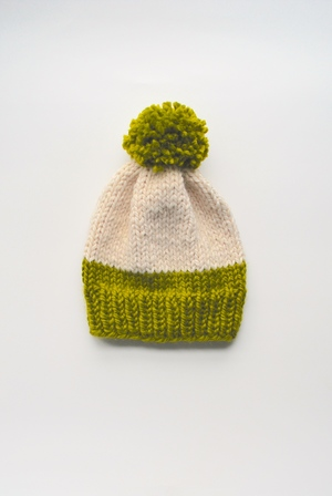 Lime Slouchy Hat Pattern