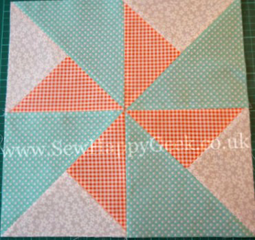 Double Pinwheel Quilt Blocks Favequilts