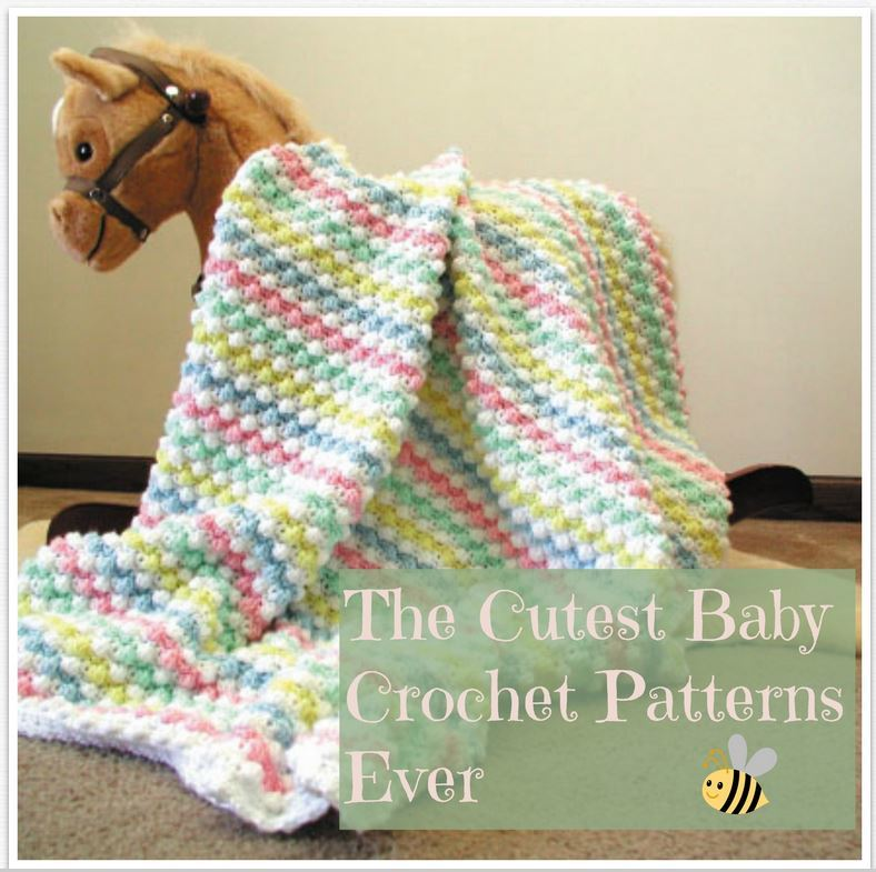 400+ of the Cutest Baby Crochet Patterns Ever | AllFreeCrochet.com