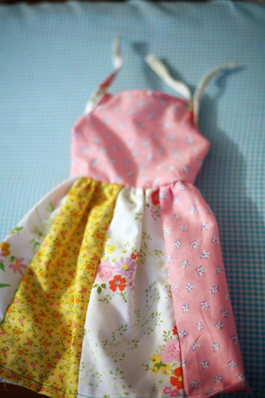 Easy Doll Dress Tutorial Allfreesewing Com