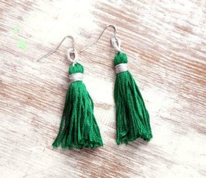 Emerald Tassel DIY Jewelry