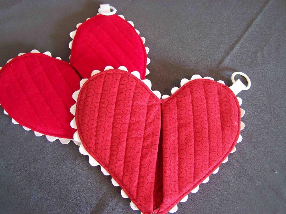 Heart Hot Pad