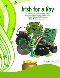 Irish for a Day: St. Patrick's Day Crafts and Recipes free eBook