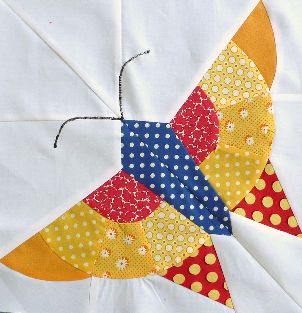 How to Quilt in Fall: 13 of September's Most Gorgeous Free Quilt ... : butterfly quilt blocks - Adamdwight.com