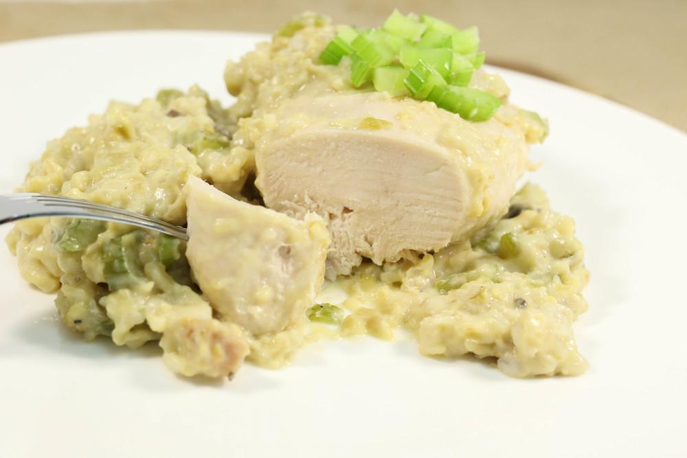 Creamy Chicken and Rice Casserole Supreme | AllFreeSlowCookerRecipes ...