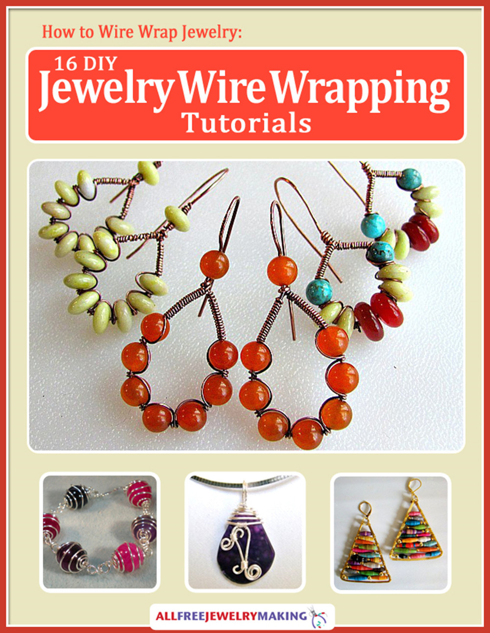 How to Wire Wrap Jewelry: 16 DIY Jewelry Wire Wrapping Tutorials ...